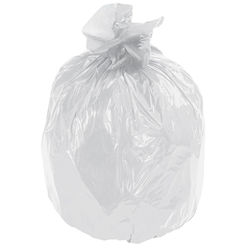 Second Chance Trash Bags Clear 24 inch x 32 inch x 1.0mil (250 Per/Pack)
