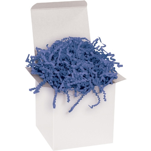 Crinkle Paper Navy Blue 10 lb. Box