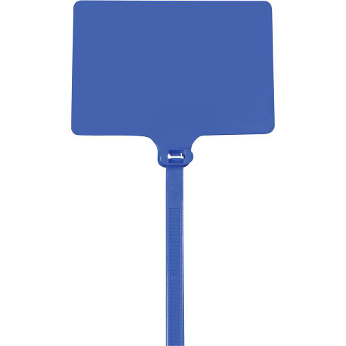 """Blue Extra Large Identification Cable Ties 6"""" 120# (100 Ties)"""