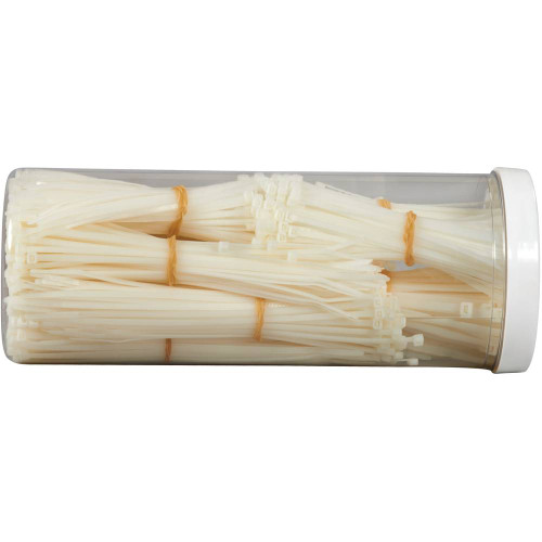 Cable Tie Kit - Assorted Natural (1000 Tie/Kit)