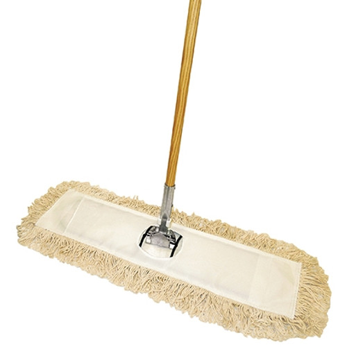 Economy Cut End Dust Mop Kit  60 inch