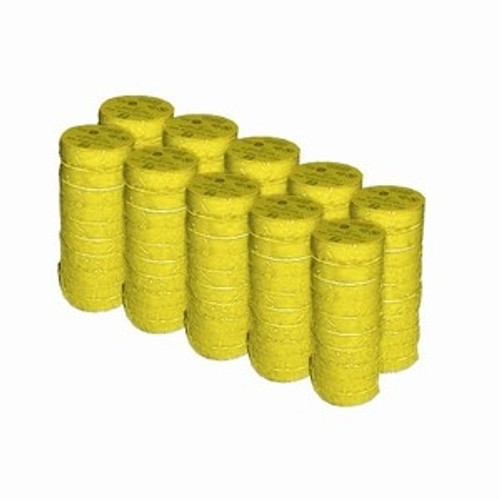 Yellow Electrical Tape 3/4 inch x 66 ft Roll 7 mil (100 Roll/Pack)