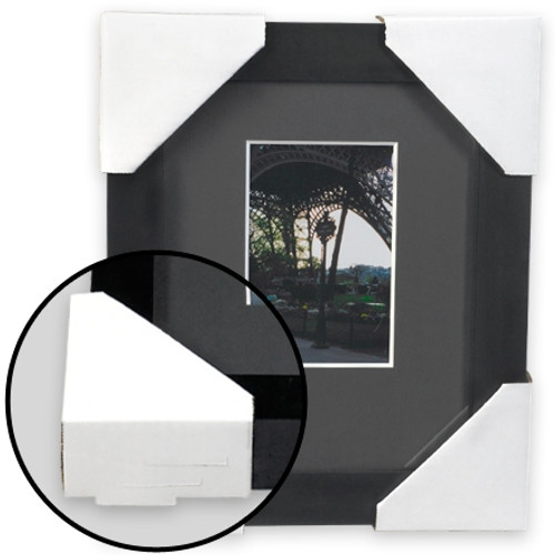 Corrugated Frame Protectors 4 inch x 4 inch (504 Per/Pack)