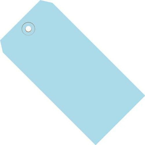 Colored Tags Light Blue 4 1/4 inch x 2 1/8 inch (1000 Per/Pack)