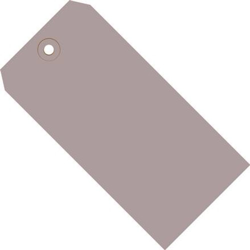 Colored Tags Gray 5 1/4 inch x 2 5/8 inch (1000 Per/Pack)