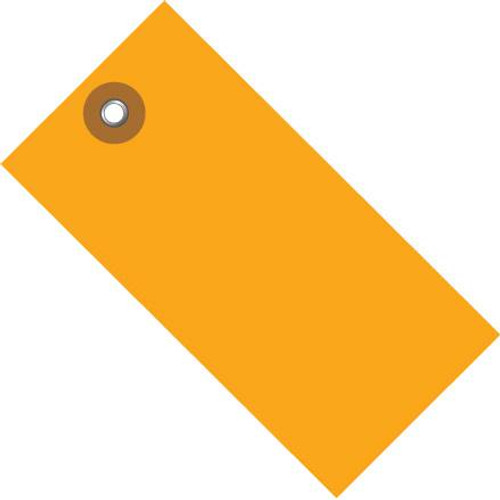 Tyvek® Orange Shipping Tags 3 1/4 inch x 1 5/8 inch (100 Per/Pack)