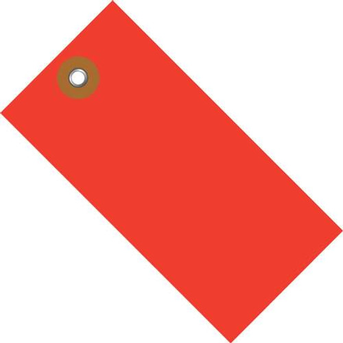 Tyvek® Red Shipping Tags 5 1/4 inch x 2 5/8 inch (100 Per/Pack)