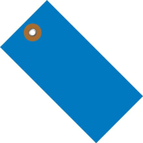 Tyvek® Blue Shipping Tags 6 1/4 inch x 3 1/8 inch (100 Per/Pack)