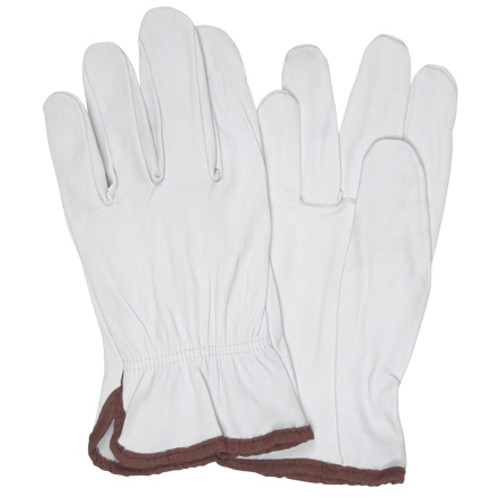 Goatskin Leather Drivers Gloves - Large (3 Pairs)