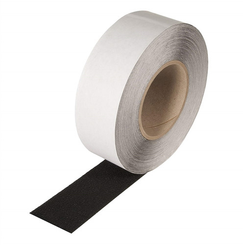 SoftTex Black Resilient Slip-Resistant Tape 2 inch x 60 ft Roll (6 Roll/Pack)