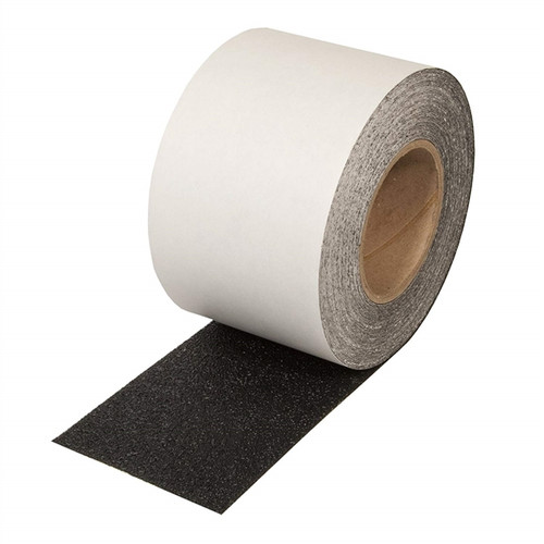 SoftTex Black Resilient Slip-Resistant Tape 4 inch x 60 ft Roll (3 Roll/Pack)