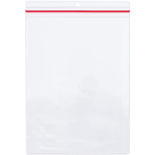 Industrial Zippered Job Ticket Holders 9 inch x 12 inch (15 Per/Pack)