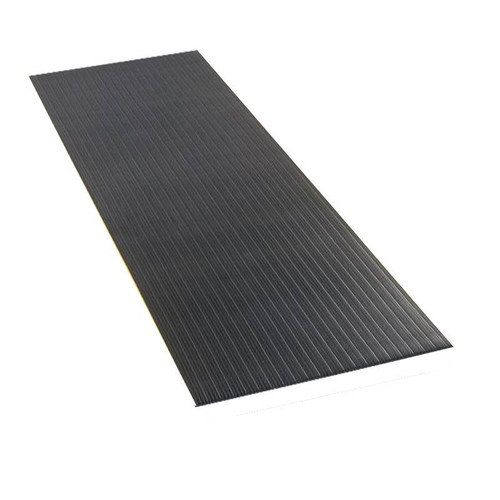 Economy Anti-Fatigue Mat Black 2 ft x 16 ft x 3/8 inch