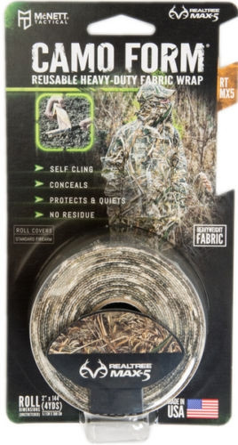 Camo Form Realtree MAX  5 Fabric Wrap Camouflage 2 inch x 144 inch Roll