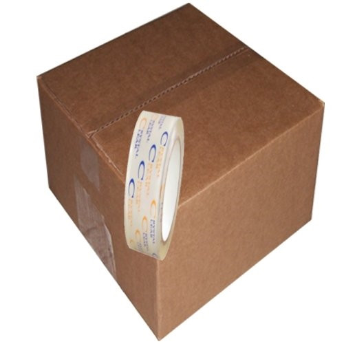 Crystal Clear Carton Sealing Tape 2.7 mil (1 inch x 110 yard Roll (72 Roll/Pack)