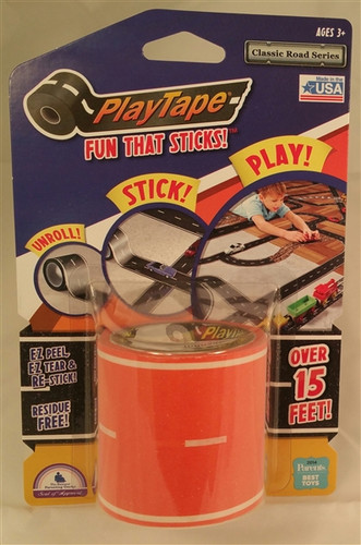 PlayTape Classic Road Orange 2 inch x 15 ft Roll