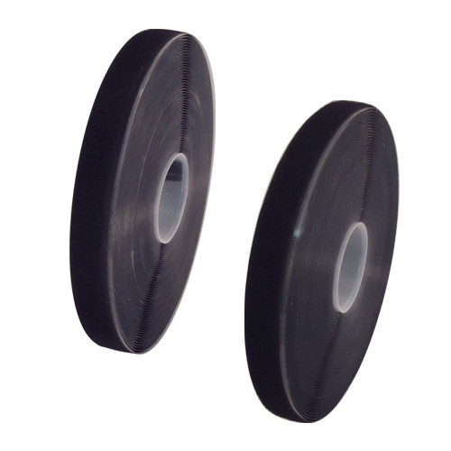 x Black Hook Adhesive (68 Rolls) and Loop Sew-On (60 Rolls) Combo 1 inch x 25 yards each roll x