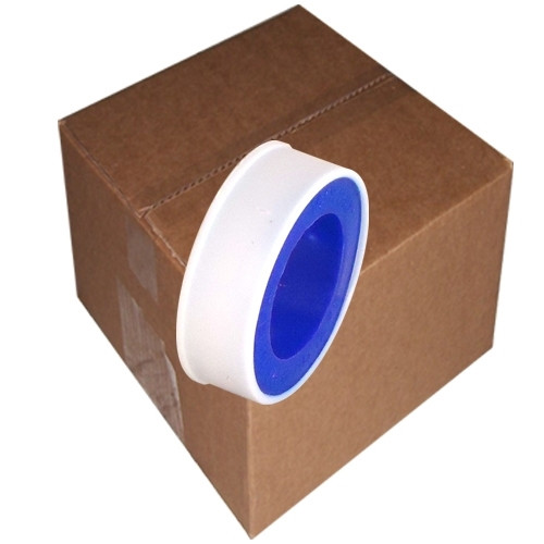 Tape Planet Pipe Thread Seal Tape (High Density (PTFE), 1/2 inch x 520 inch Roll (500 Roll/Pack)