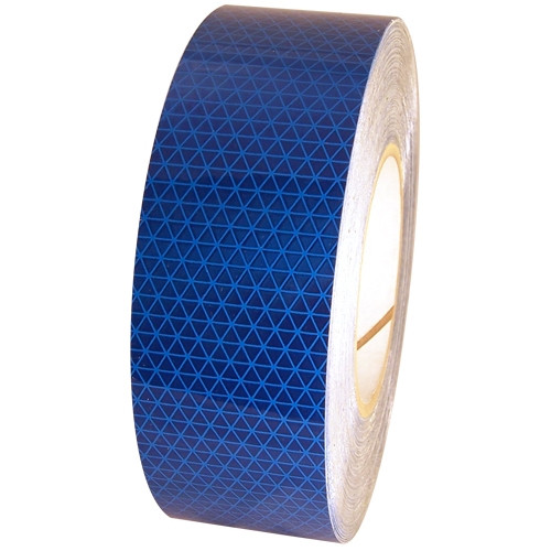 Blue Oralite Retroreflective Tape 5 year 2 inch x 50 yard Roll
