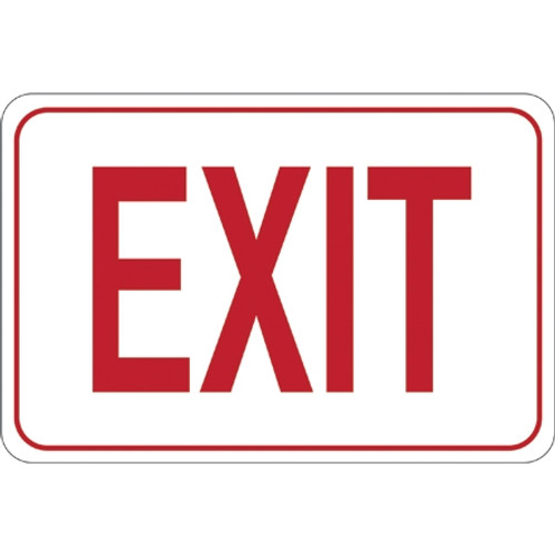 Facility Sign 7 inch x 10 inch - EXIT