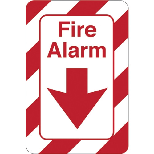 Facility Sign 9 inch x 6 inch - Fire Alarm