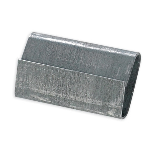 Closed/Snap On Regular Duty Steel Strapping Seals 3/4 inch x 1 inch (5000 Per/Pack)