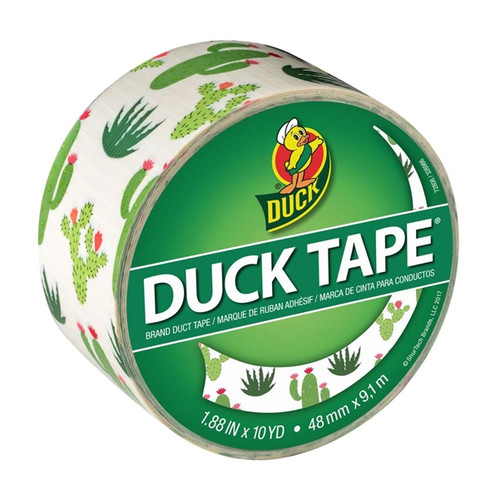 Cacti Duck Tape Brand Duct Tape 1.88 inch x 10 yard Roll