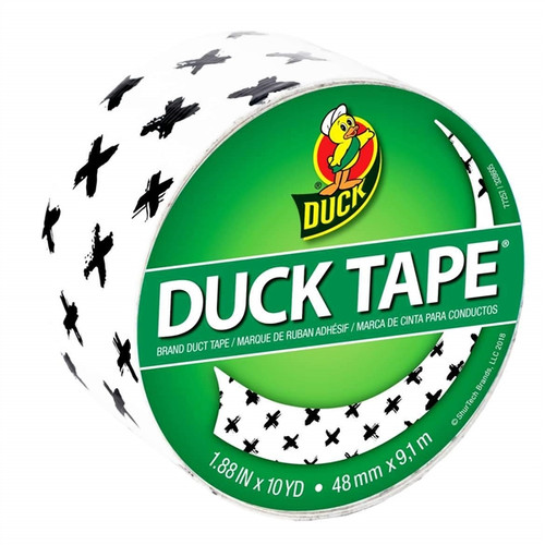 Duck Brand Printed Duct Tape Patterns: 1.88 in. x 30 ft. (Brushed X)
