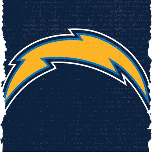 NFL Licensed Duck Tape San Diego Chargers 1.88 inch X 10 yards