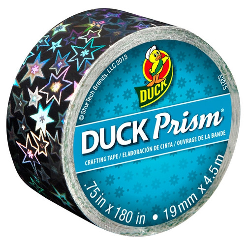 Ducklings Prism Crafting Tape - Stars, .75 in. x 5 yard Roll