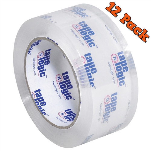 Tape Logic #310 Crystal Clear Tape 2 inch x 55 yard Roll (12 Pack)
