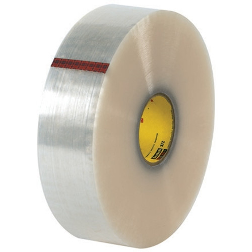 3M 372 Carton Sealing Tape Clear 3 inch x 1000 yard Roll (4 Roll/Pack)