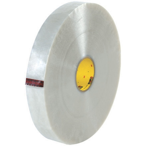 3M 355 Carton Sealing Tape Clear 2 inch x 1000 yard Roll (4 Roll/Pack)