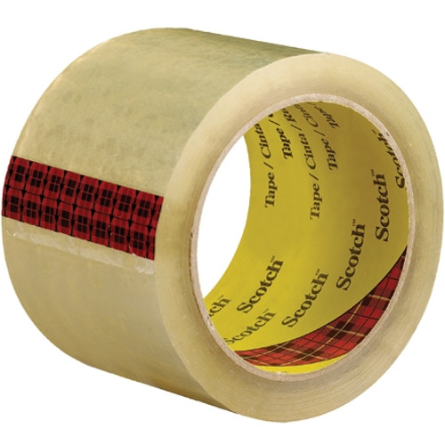Carton Sealing Tape 3M 3743 Clear 3 inch x 55 yard Roll (6 Roll/Pack)