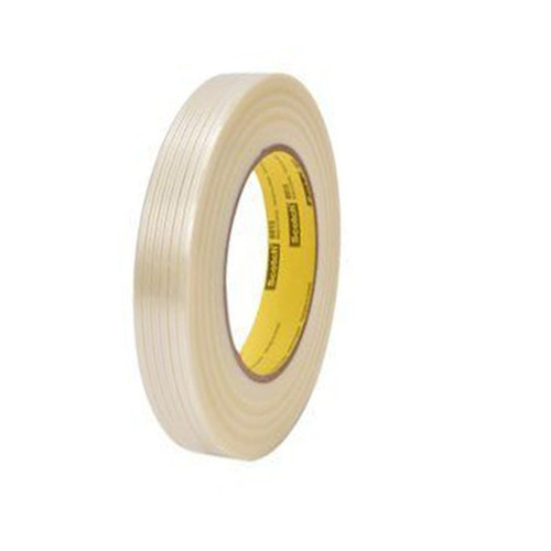 3M 8915 Strapping Tape 3/4 inch x 60 yard (48 Roll/Pack)
