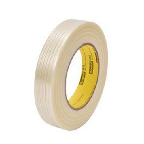 3M 8915 Strapping Tape 1 inch x 60 yard (36 Roll/Pack)