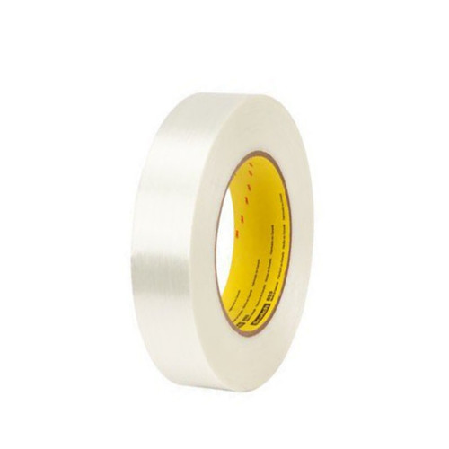 3M 893 Strapping Tape 1 inch x 60 yard (36 Roll/Pack)