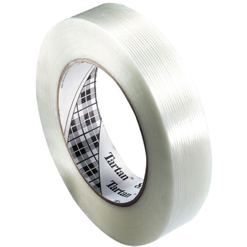 3M 8934 Strapping Tape 1 inch x 60 yard (36 Roll/Pack)