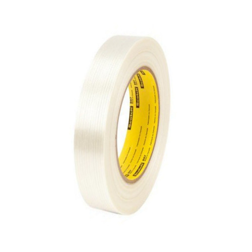 3M 897 Strapping Tape 1 inch x 60 yard (36 Roll/Pack)