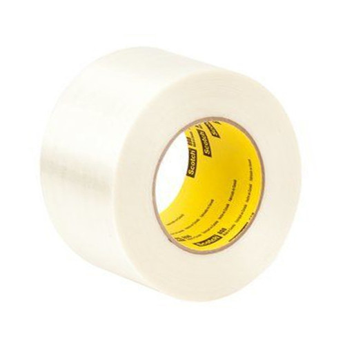 3M 898 Strapping Tape 3 inch x 60 yard (12 Roll/Pack)