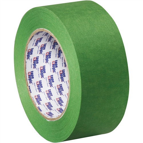 Tape Logic 3200 Green Painter fts Tape 2 inch x 60 yard (12 Roll/Pack)