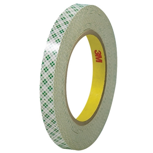 3M 410M Double Sided Masking Tape 1/2 inch x 36 yard Roll (72 Roll/Pack)