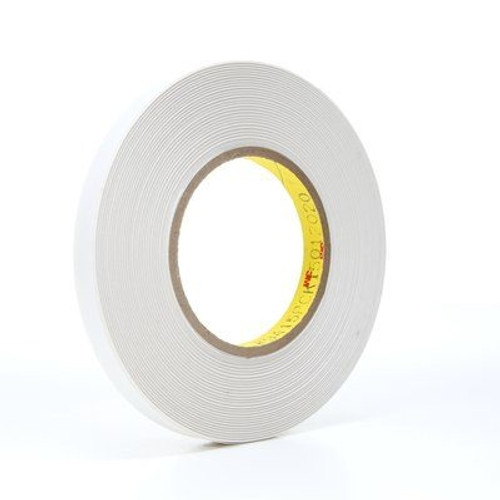 3M 9415PC Removable Double Sided Film Tape 1/2 inch x 72 yard Roll (72 Roll/Pack)