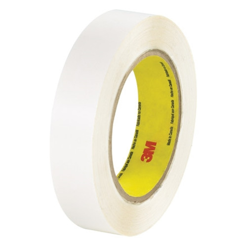 3M 444 Permanent Double Sided Film Tape 1 inch x 36 yard Roll (6 Roll/Pack)
