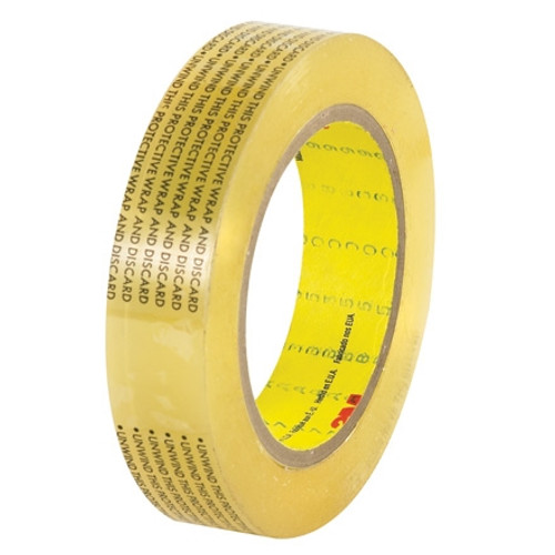 3M 665 Double Sided Film Tape 1 inch x 72 yard Roll (36 Roll/Pack)
