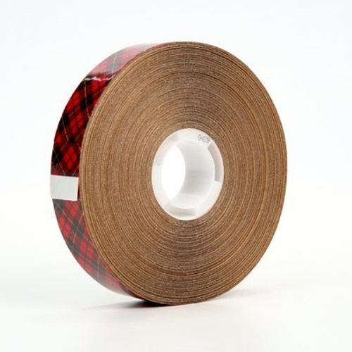 Adhesive Transfer Tape 3M 969 1/2 inch x 18 yard Roll (6 Pack)
