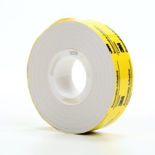 Adhesive Transfer Tape Repositionable 3M 928 3/4 inch x 18 yard Roll (48 Roll/Pack)