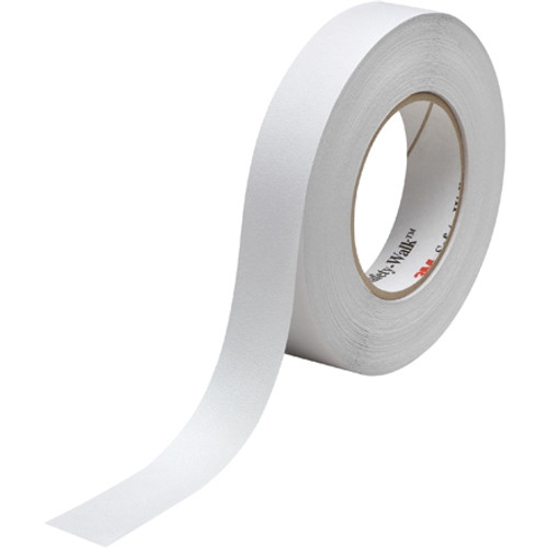 3M Safety-Walk Slip-Resistant Fine Resilient Tape 220, Clear 1 inch x 60 ft Roll (4 Roll/Pack)