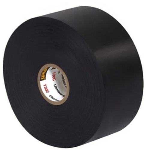 3M 130C Linerless Electrical Tape 2 inch x 30 ft Roll (3 Pack)