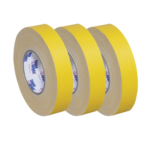 Tape Logic 11 Mil Gaffers Tape Yellow 1 inch x 60 yard Roll (3 Pack)